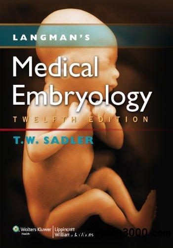 Langman Giáo trình Phôi thai học Y học 12e