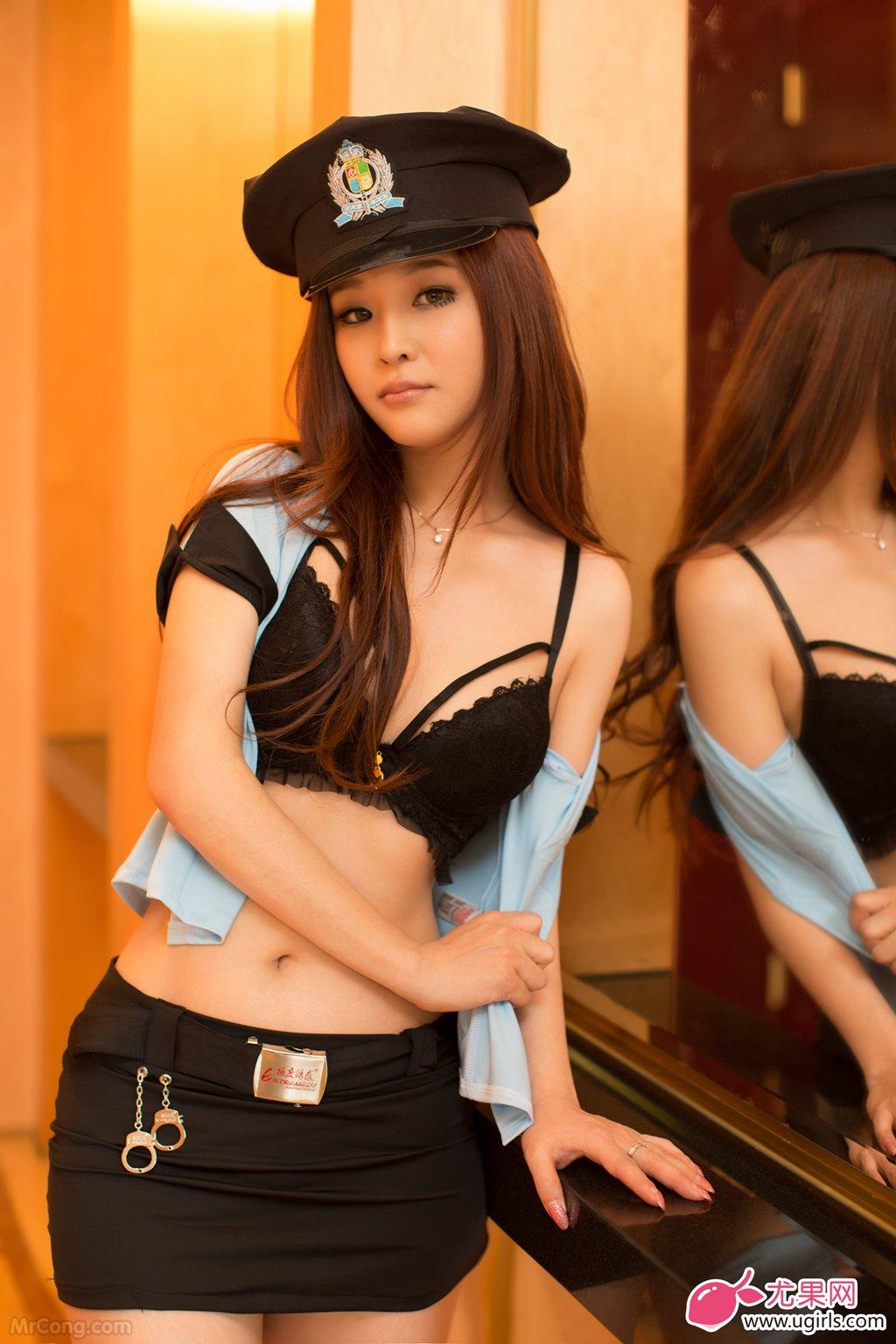 Image MrCong.com-UGIRLS-015-Chun-Xiao-Xi-006 in post Người đẹp Chun Xiao Xi (纯小希) siêu nóng bỏng trong bộ ảnh UGIRLS 015
