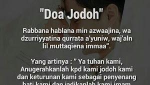 Selain Doa Agar Cepat Mendapatkan Jodoh dan 3 Hal Ini Harus Kamu Lakukan
