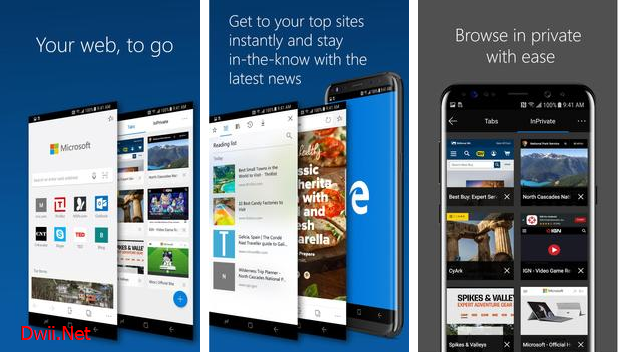 Aplikasi Browser paling cepat 2019