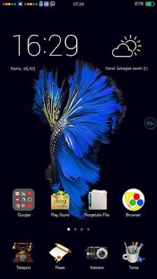 Kumpulan Tema Oppo Terbaik Semua Tipe - iOS FISH