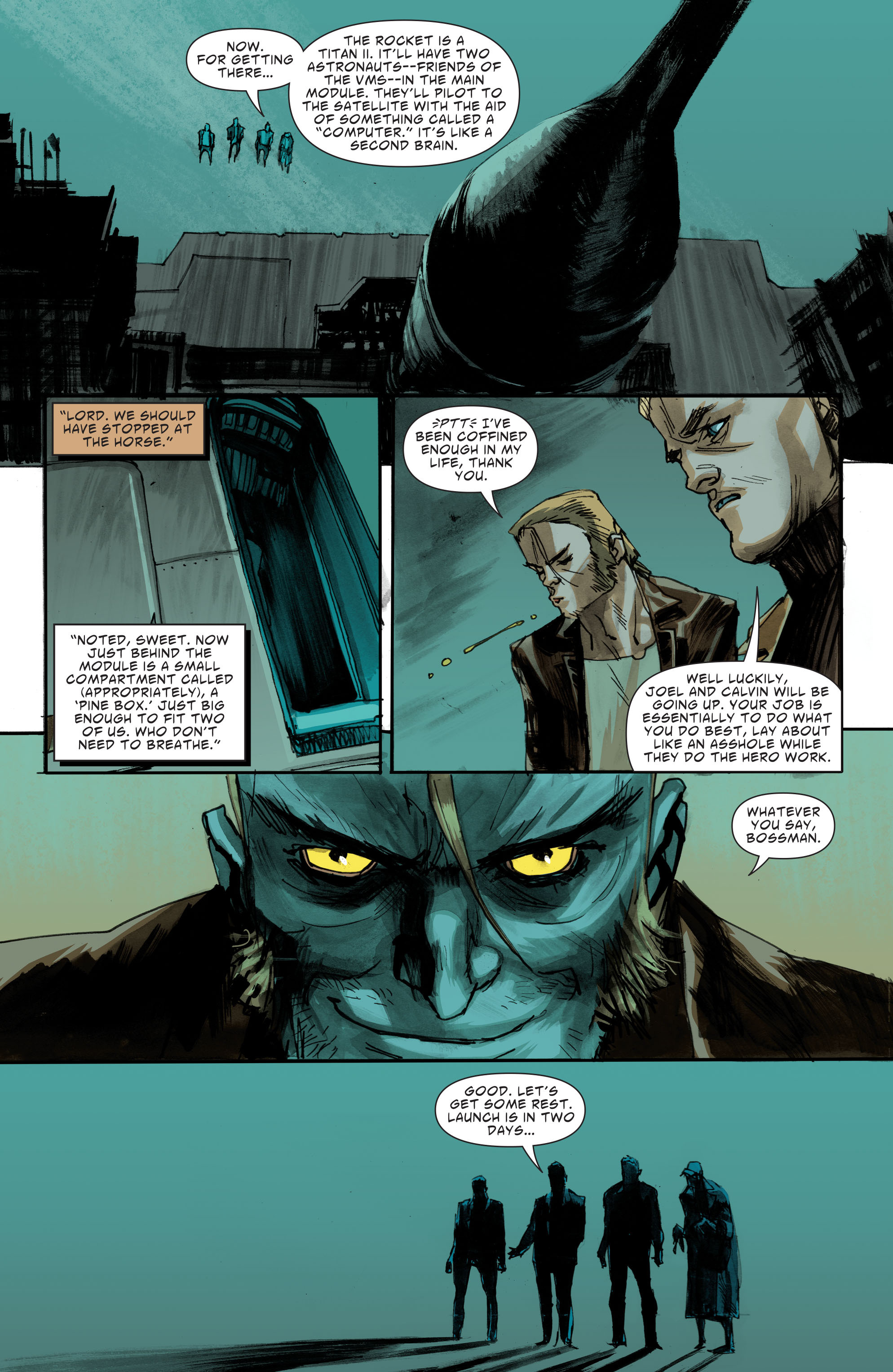 Read online American Vampire: Second Cycle comic -  Issue #7 - 12
