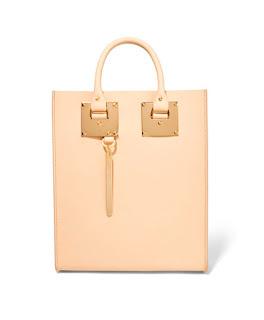 Розовая сумка вертикальной формы