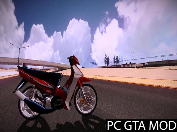 Free Download  Yamaha Sstwo Racing Spirit  Mod for GTA San Andreas