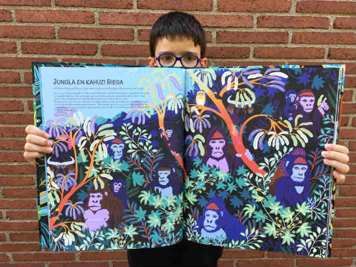 libros cuentos infantiles naturaleza, junglas, selvas, bosques mia cassay mosquito