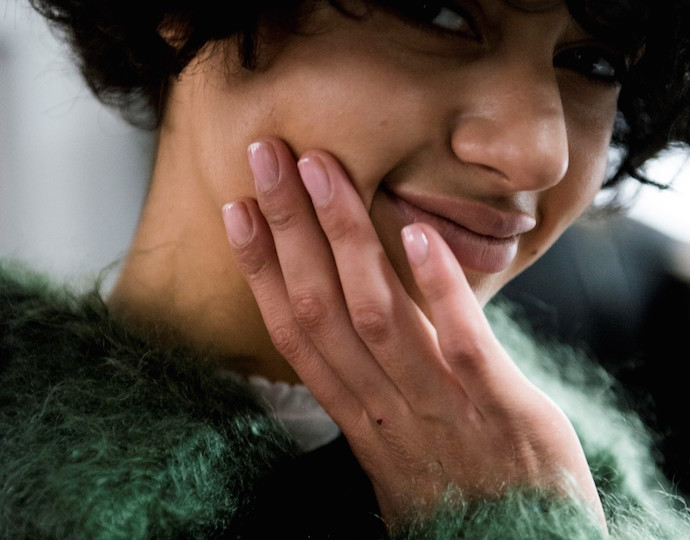 NYFW Fall/Winter 2016 nail trends Derek Lam