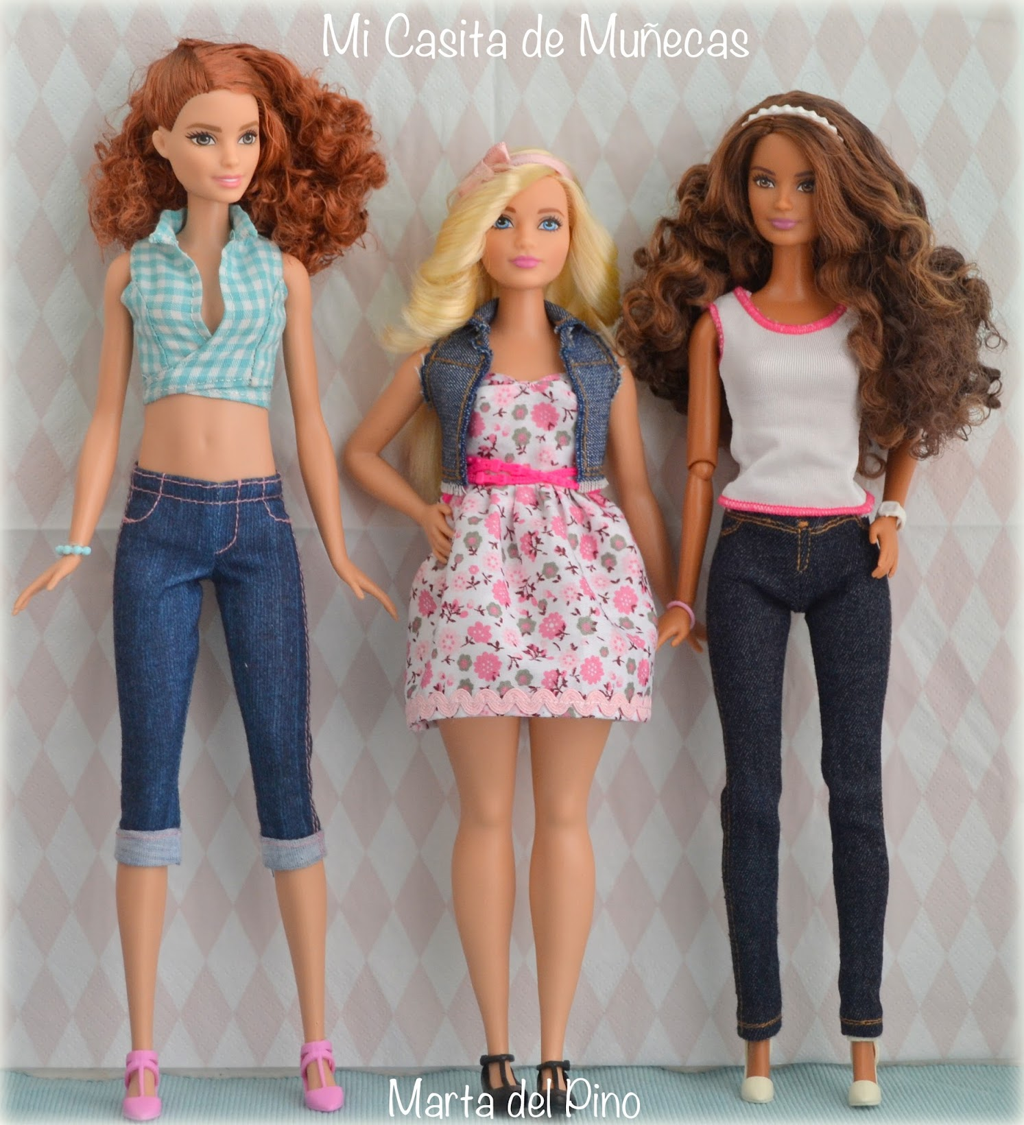 Barbie fashionistas 2016, curvy, tall, petit,  barbie nuevo cuerpo, barbie new body, mi casita de muñecas