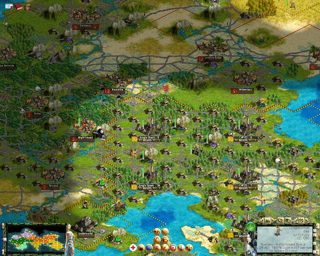 Civilization 3 - Tides of Crimson Mod Description