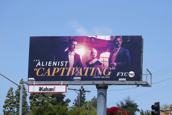 Alienist Captivating 2018 Emmy FYC billboard
