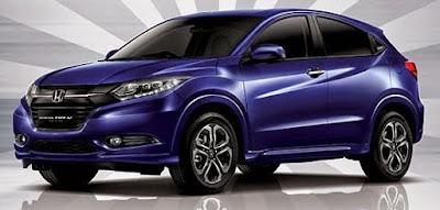 Honda HRV Warna Morpho Blue Pearl