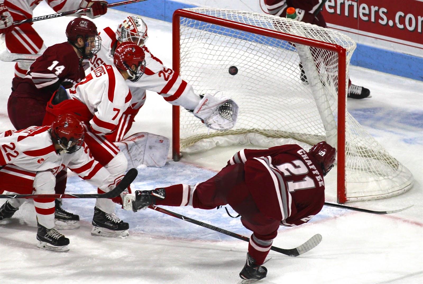the bu hockey blog: bu, umass efforts go for knot
