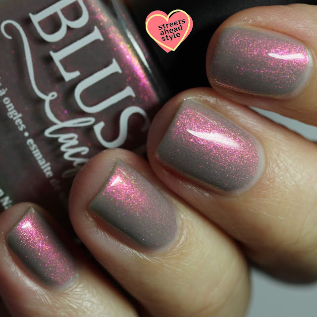 BLUSH Lacquers Calliope Pacifica swatch by Streets Ahead Style