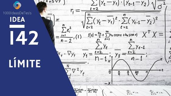 Idea 142 de 1000 ideas de tesis: ¿La implementación de una serie de actividades intencionadas que cambian de registros de representación mejoran el proceso de enseñanza aprendizaje del concepto de límite en estudiantes universitarios?