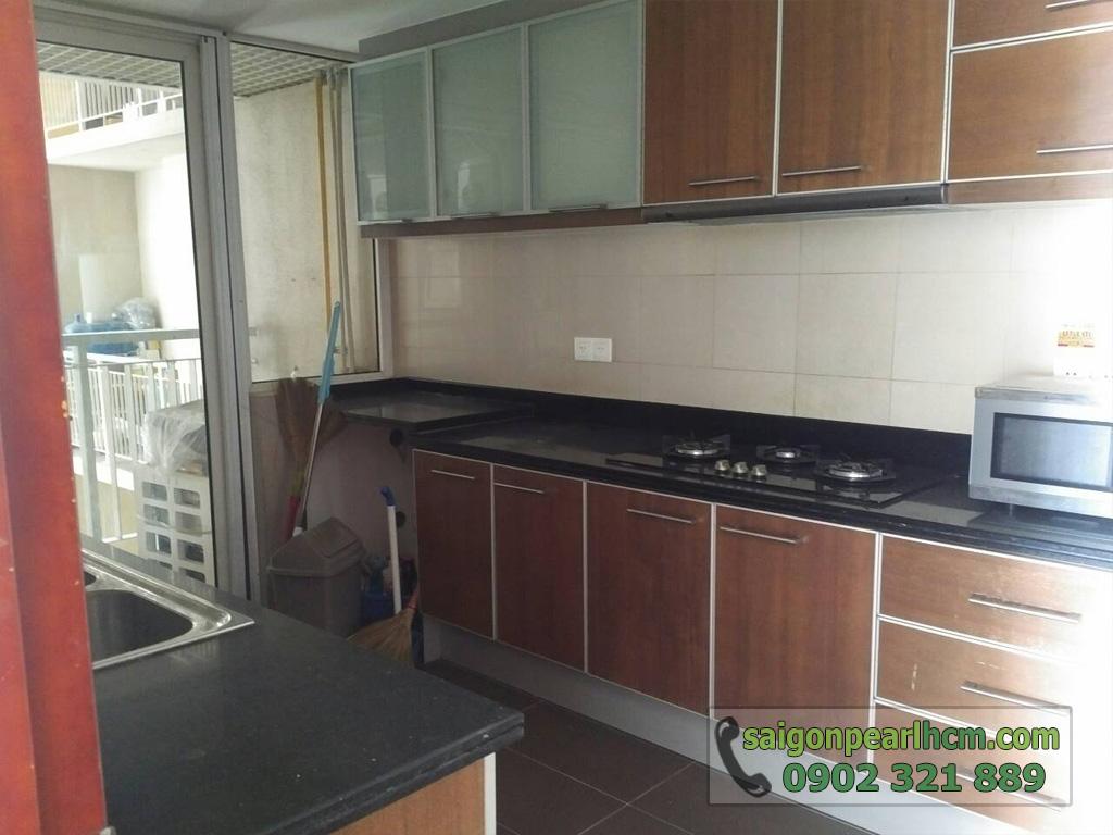 Saigon Pearl - Ruby 1 bán căn hộ 140m2 - khu bếp nấu