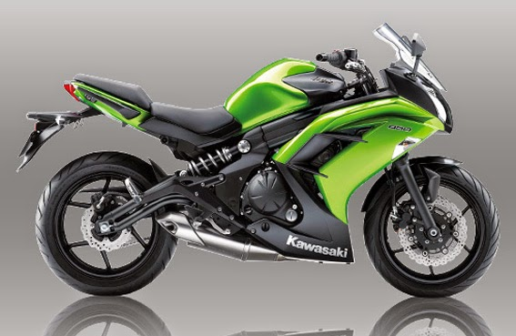 The 2017 Kawasaki Ninja 650