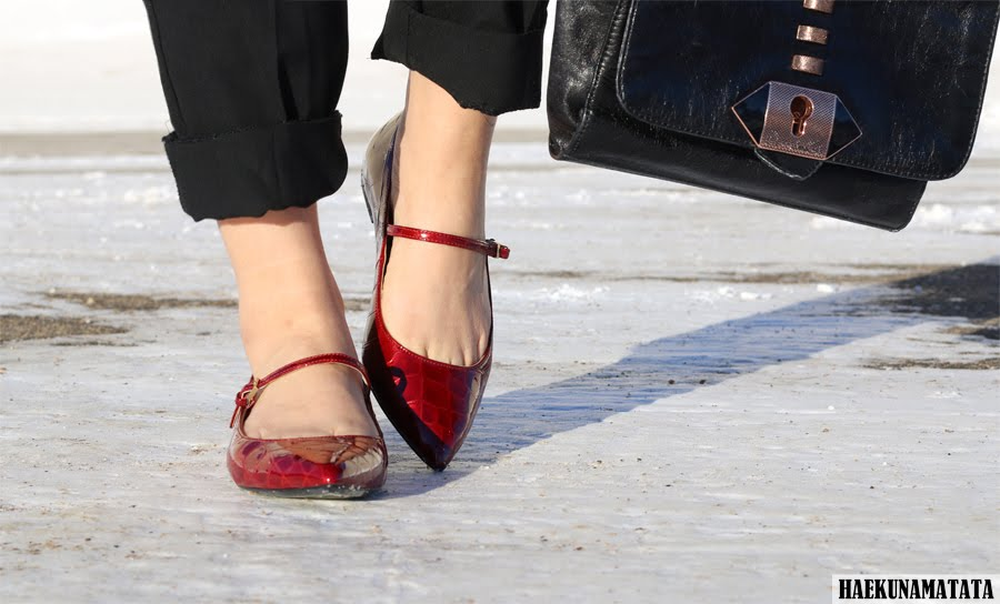 Calvin Klein Gracy Mary Jane Flats