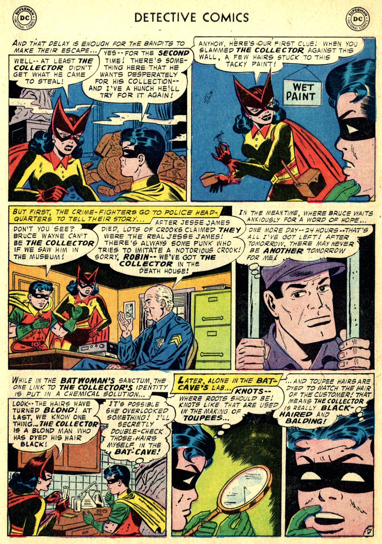 Read online Detective Comics (1937) comic -  Issue #249 - 9
