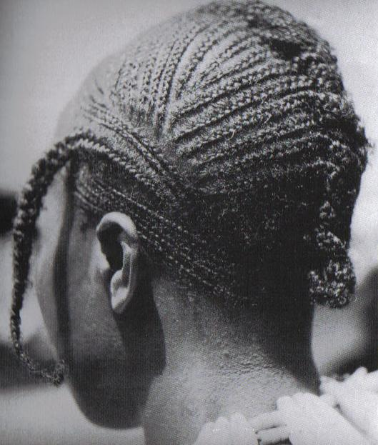 Wife of the Niao chief at Ganya in We territory of Ivory Coast, West Africa. Photo: Vandenhoute, 1938-39, IV.F.VII. 134-10