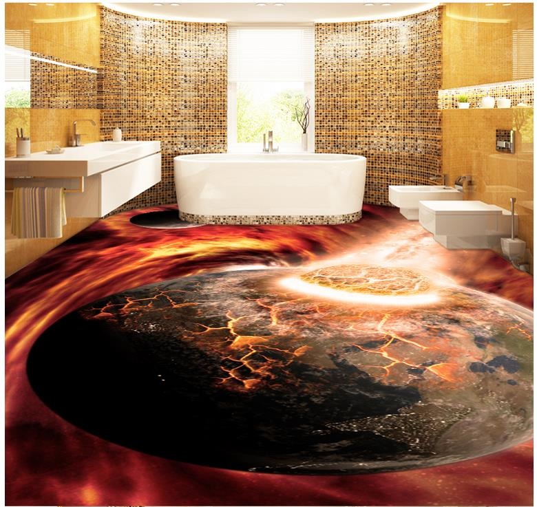 bathroom floor 3d art amazing 3d flooring 3d epoxy floor murals installation 15850