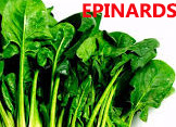 épinard sont riches en vitamines c