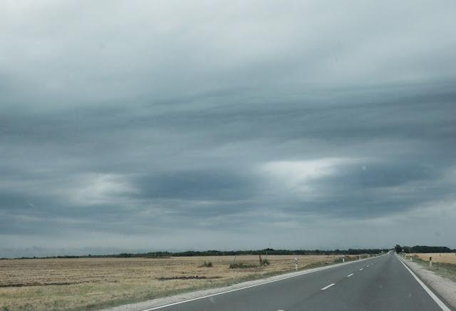 Jedna z węgierskich dróg krajowych