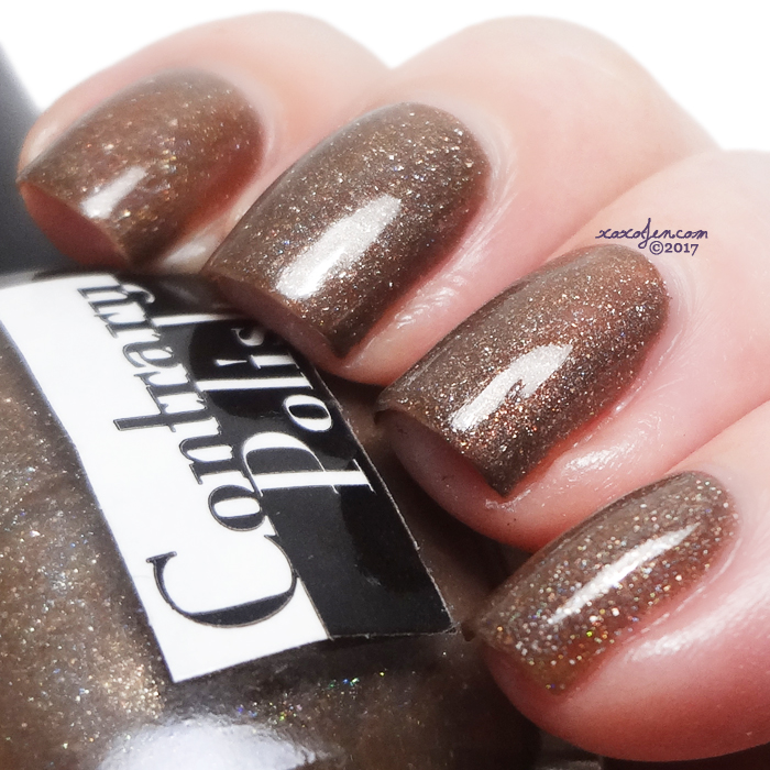 xoxoJen's swatch of Contrary Polish: North Halsted