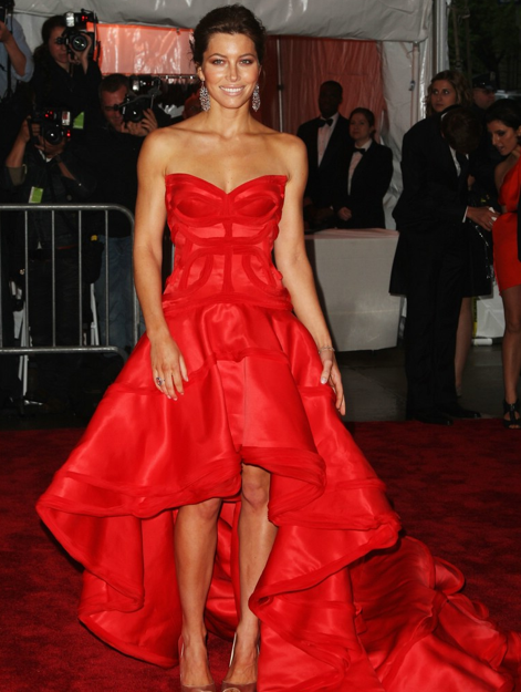Magic Red Dress Inspired By Celebrities In Red Dresses