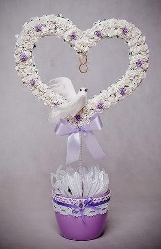 Regalo hecho a mano con un coraz n lodijoella - Manualidades regalo boda ...