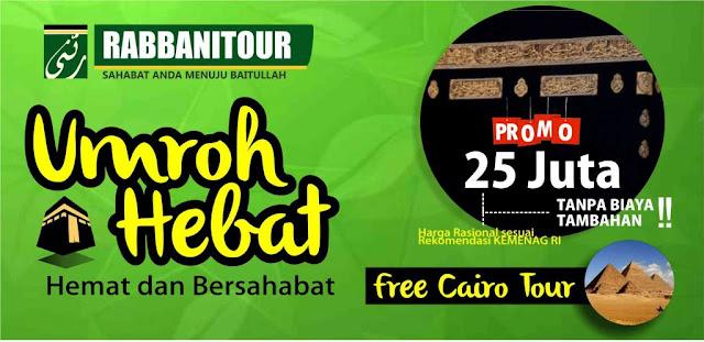 Umrah Plus Mesir Rabbani Tour