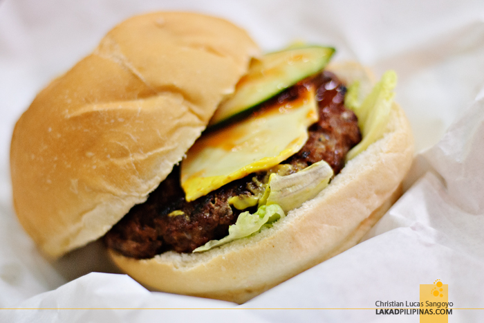 Classic Burger at Papa Rock's Burger in Marikina