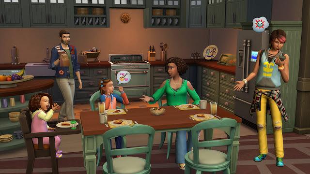 Divertidas situaciones en familia con los Sims 4 Papás y Mamás Pack de Contenido