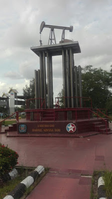 Monumen Pompa Angguk di Kota Duri