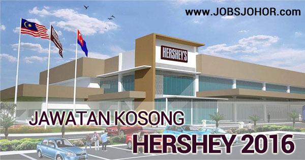 Jawatan Kosong Hershey Johor Terkini 2016