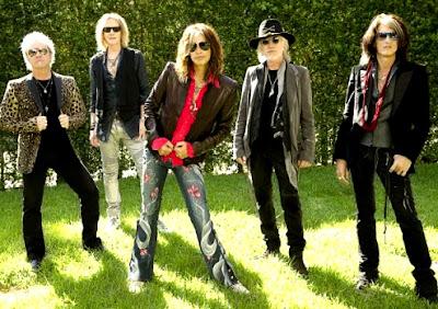 Foto de Aerosmith al aire libre