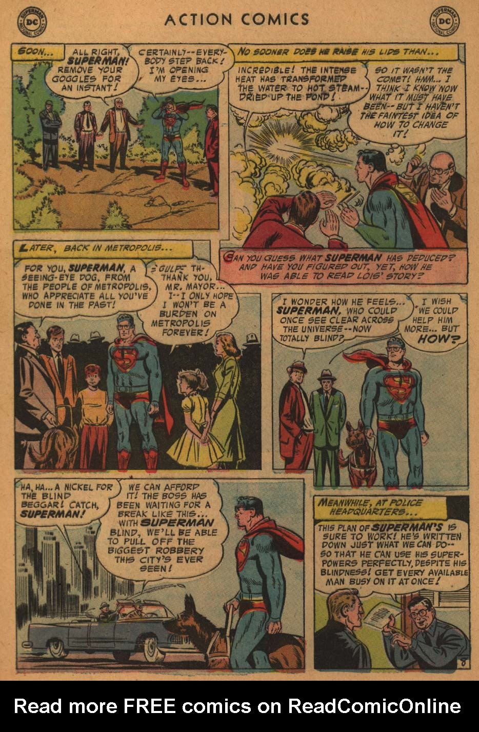 Read online Action Comics (1938) comic -  Issue #227 - 10