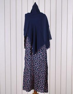 Jual Online Lyra Flow Biru Model Busana Muslim Terbaru diJakarta