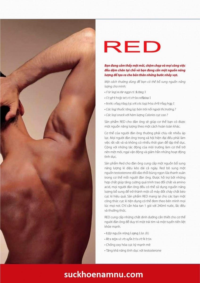 RED - Tăng cường sinh lực đàn ông