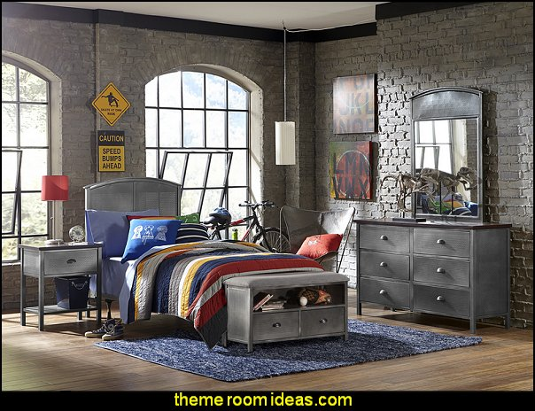 Urban Quarters Panel 6 Piece Bedroom Set