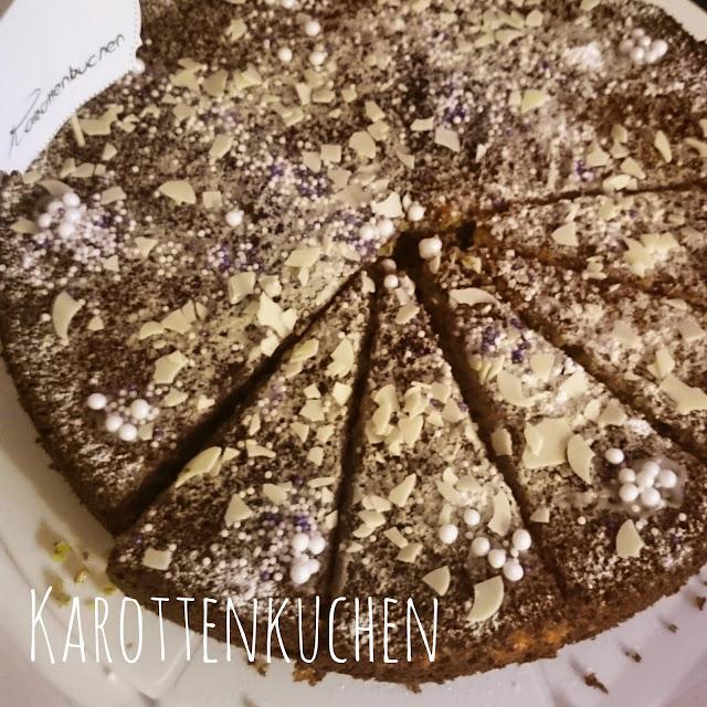 [Food] Karottenkuchen // Carrot Cake