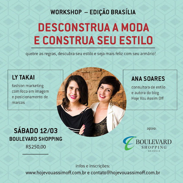 Workshop Desconstrua a Moda e Construa seu Estilo