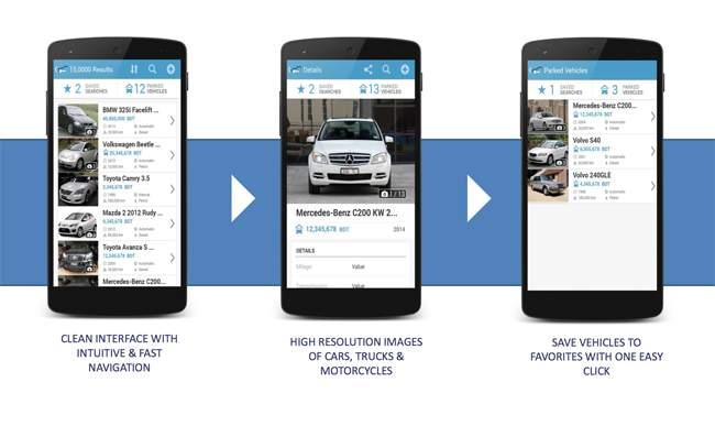 FIND the perfect vehicle within the narrowed-down search results