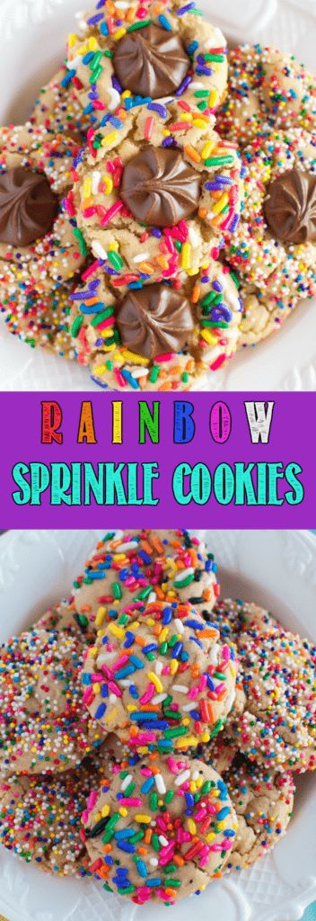Rainbow Sprinkle Cookies