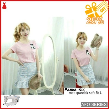 AFO517 Model Fashion Panda Tee Modis Murah BMGShop