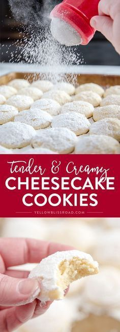 CHEESECAKE COOKIES (UPDATED RECIPE)