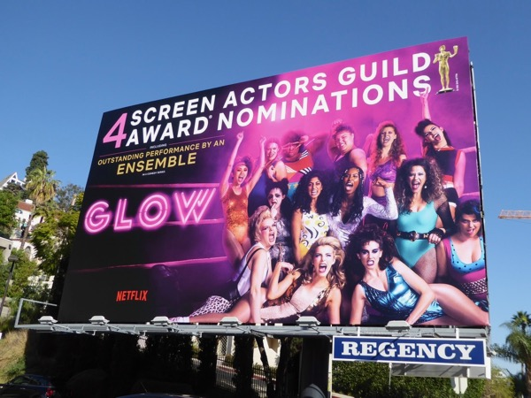 GLOW 2018 SAG Awards nominations billboard