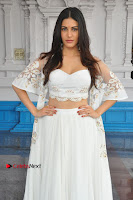 Telugu Actress Amyra Dastur Stills in White Skirt and Blouse at Anandi Indira Production LLP Production no 1 Opening  0083.JPG