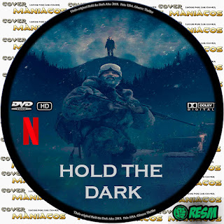 GALLETA HOLD THE DARK 2018 [COVER - DVD]