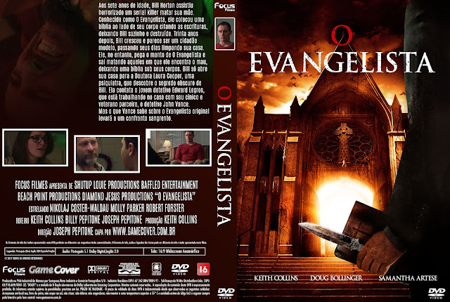 Capa DVD O Evangelista (2017) [Exclusiva]