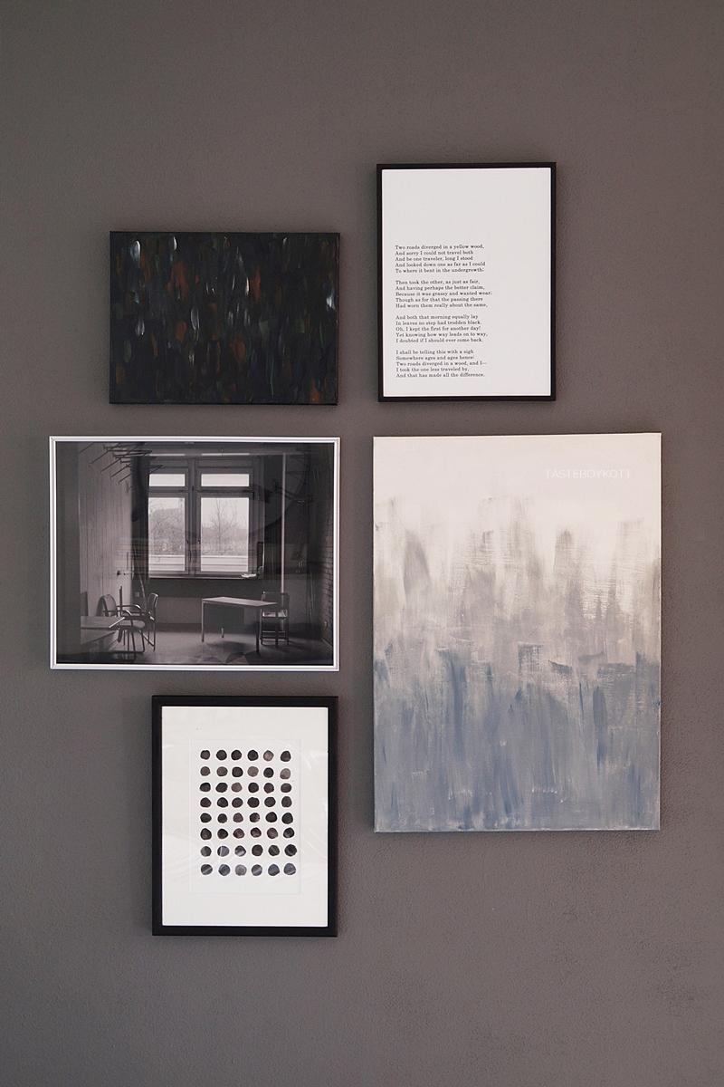 Meine besten Tipps für eine gelungene Bilderwand mit Fotopostern, Prints und Leinwänden | DIY Tutorial | Tasteboykott