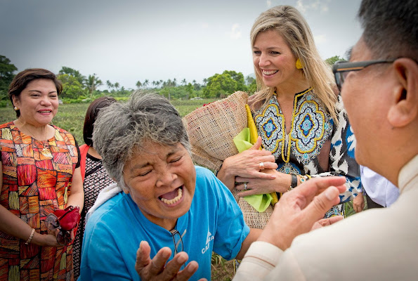 Queen Maxima is visiting the country in her capacity as the U.N. Secretary-General's Special Advocate (UNSGSA) for Inclusive Finance Development